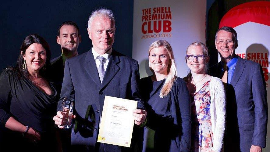 Shell Premium Club Winner Werner Eberhardt